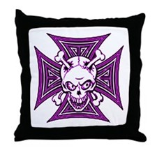 The Haunted Dead V Throw Pillow
