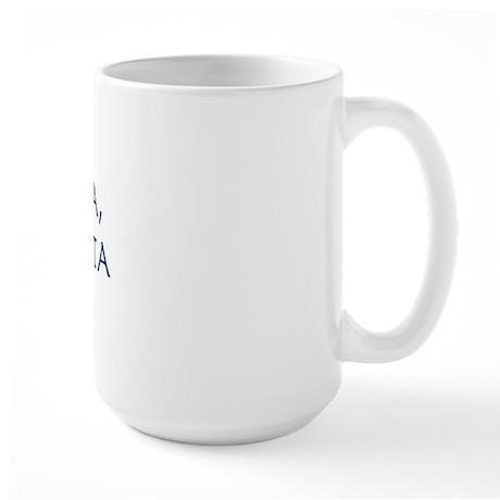 MORS CERTA, VITA INCERTA Large Mug