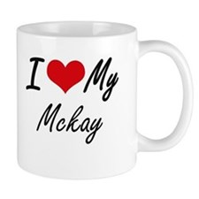 I Love My Mckay Mugs