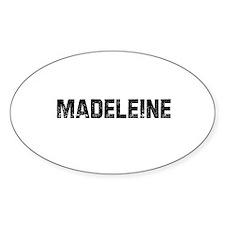 Madeleine Oval Decal