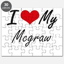 I Love My Mcgraw Puzzle