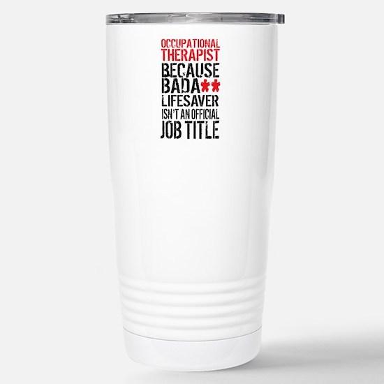 Badass Occupational The Stainless Steel Travel Mug