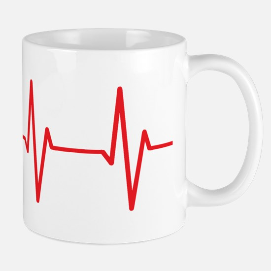 Sheltie Heartbeat Mugs