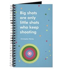 Big shot polka dot journal