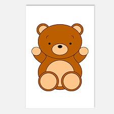 Cute Cartoon Bear Postcards (Package of 8)