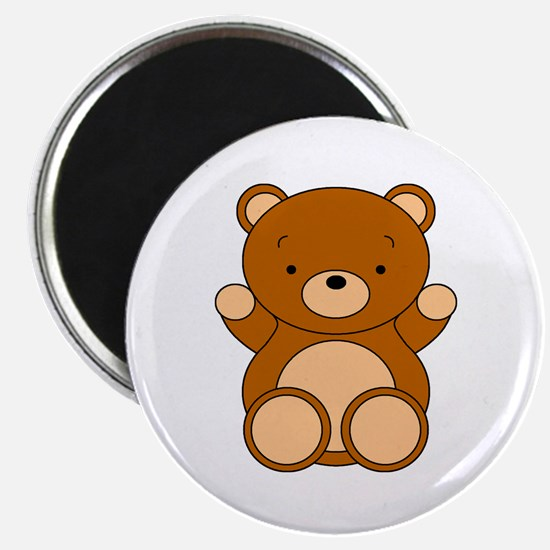 Cute Cartoon Bear Magnet