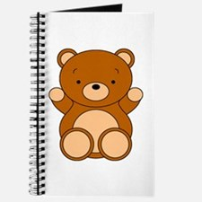 Cute Cartoon Bear Journal