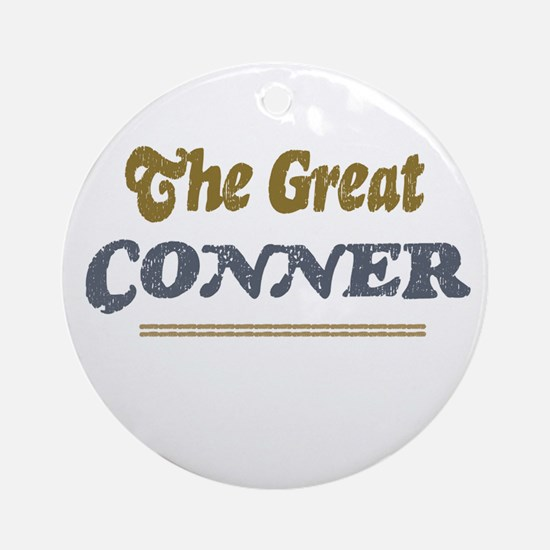 Conner Ornament (Round)