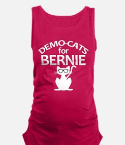 Demo-Cats for Bernie Maternity Tank Top