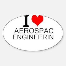 I Love Aerospace Engineering Decal