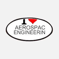 I Love Aerospace Engineering Patch