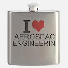 I Love Aerospace Engineering Flask