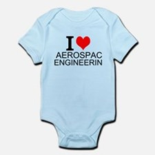 I Love Aerospace Engineering Body Suit