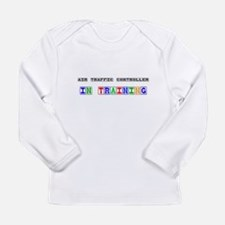 Cute Air traffic controller Long Sleeve Infant T-Shirt