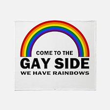 Gay Side Throw Blanket