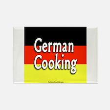 German Cooking Rectangle Magnet