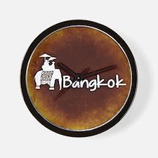 Unique Bangkok Wall Clock