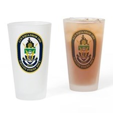 LCS Squadron 1 Crest Drinking Glass