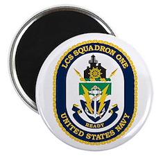 LCS Squadron 1 Crest Magnet