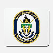 LCS Squadron 1 Crest Mousepad