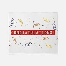 Cute Congratulations Throw Blanket