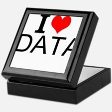 I Love Data Keepsake Box