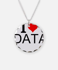 I Love Data Necklace