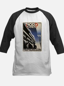 Vintage poster - Nord Express Baseball Jersey