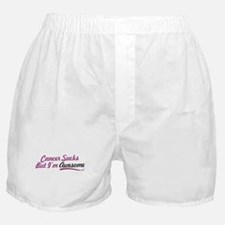 Funny Funny cancer Boxer Shorts