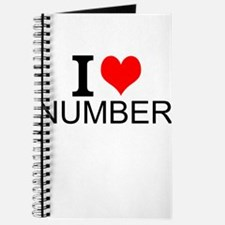 I Love Numbers Journal