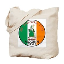 Mcginn, St. Patrick's Day Tote Bag