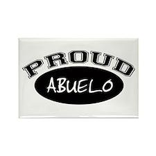 Proud Abuelo (black) Rectangle Magnet