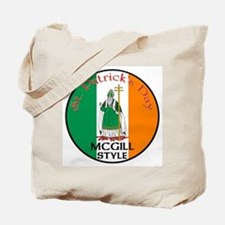 Mcgill, St. Patrick's Day Tote Bag