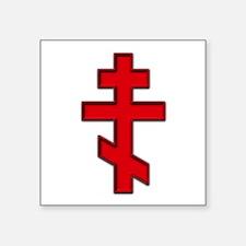 Russian Cross Sticker
