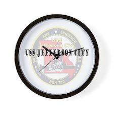 USS Jefferson City Wall Clock