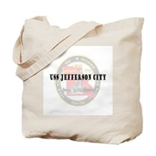 USS Jefferson City Tote Bag