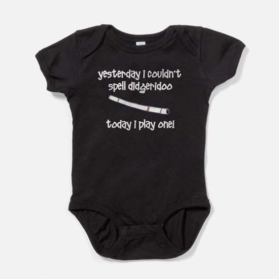 Funny didgeridoo Baby Bodysuit