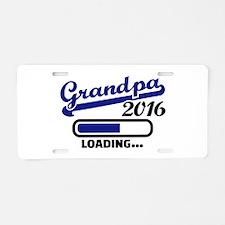 Grandpa 2016 Aluminum License Plate