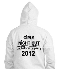 Girls Night Out 2016 Red Hoodie