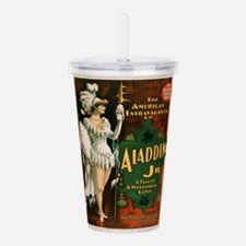 Vintage poster - Aladd Acrylic Double-wall Tumbler