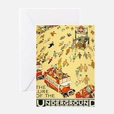 Unique Underground Greeting Card