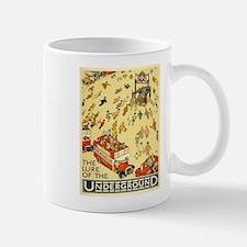Vintage poster - London Underground Mugs