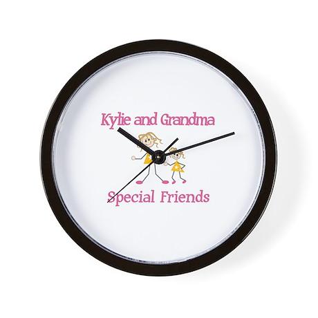 Kylie & Grandma - Friends Wall Clock