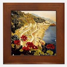 Cute Scenic Framed Tile