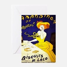Unique Vintage champagne Greeting Card