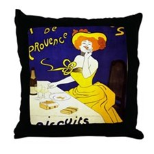 Cute Vintage champagne Throw Pillow