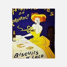 Cool Vintage champagne Throw Blanket