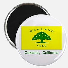 Oakland CA Flag Magnet