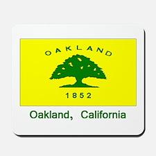 Oakland CA Flag Mousepad