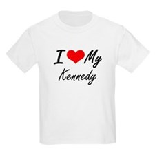 I Love My Kennedy T-Shirt